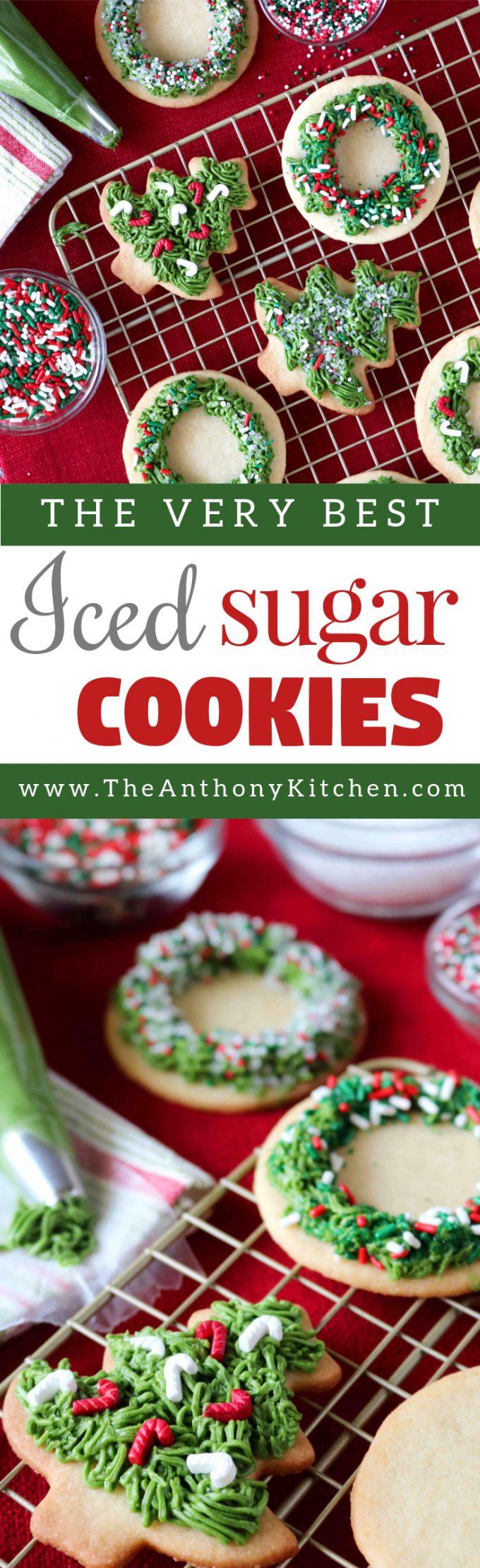 save - Best Christmas Sugar Cookies