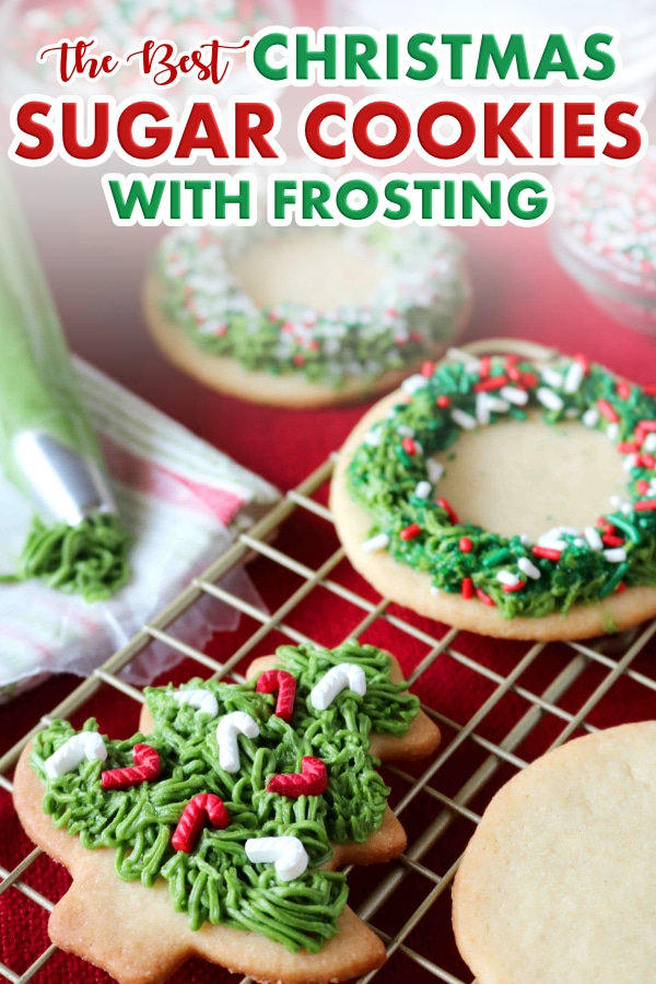 Christmas Sugar Cookies with Icing