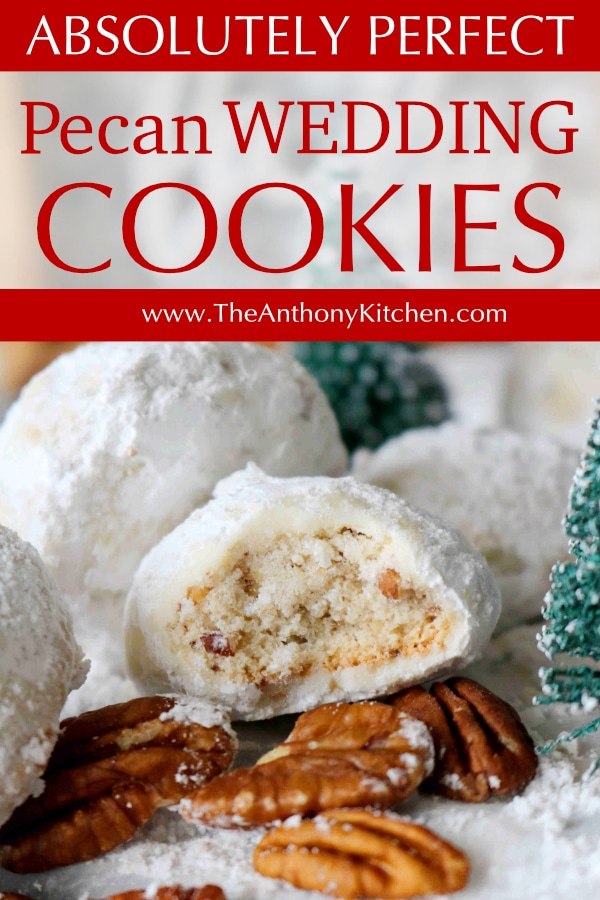 pecan wedding cookies