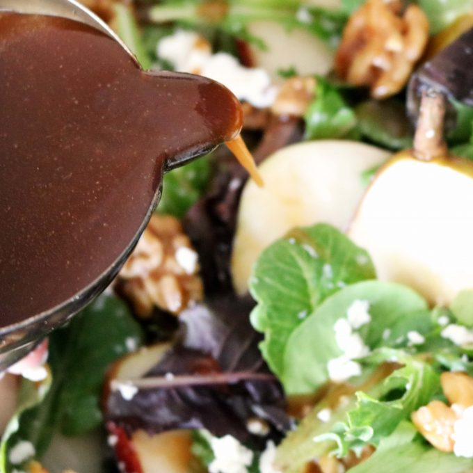 Balsamic Apricot Dressing for Pear Salad