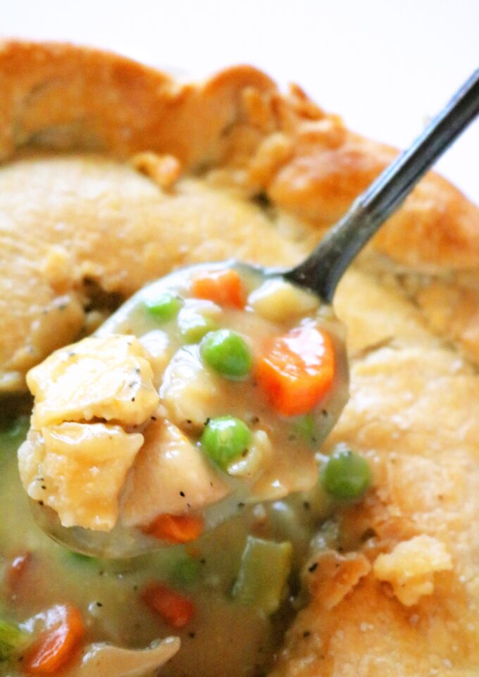 The Best Chicken Pot Pie With Homemade Pie Crust