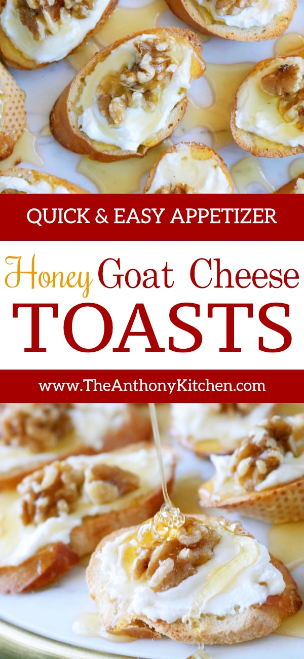 EASY APPETIZER WITH GOAT CHEESE