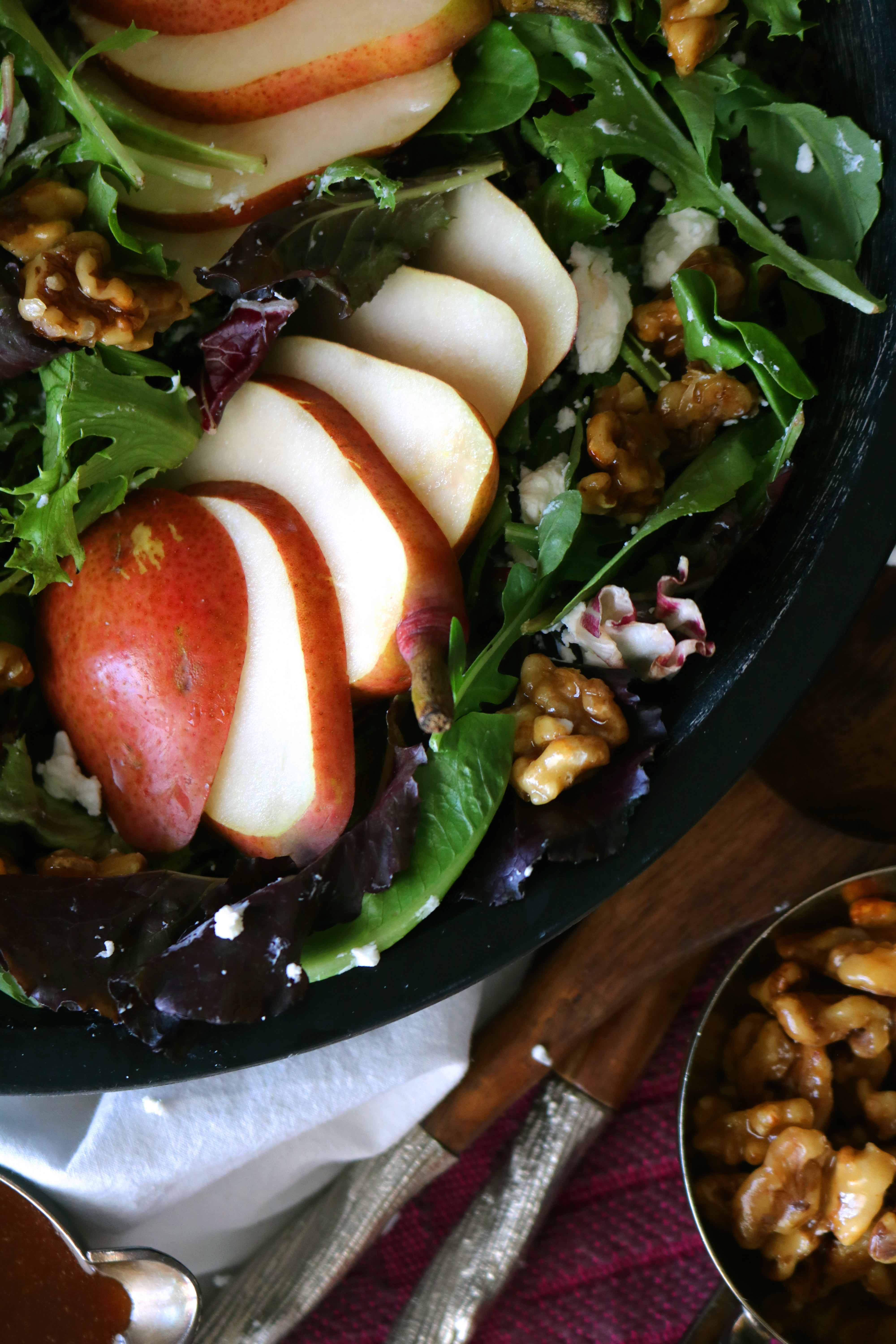 Pear And Walnut Salad The Anthony Kitchen