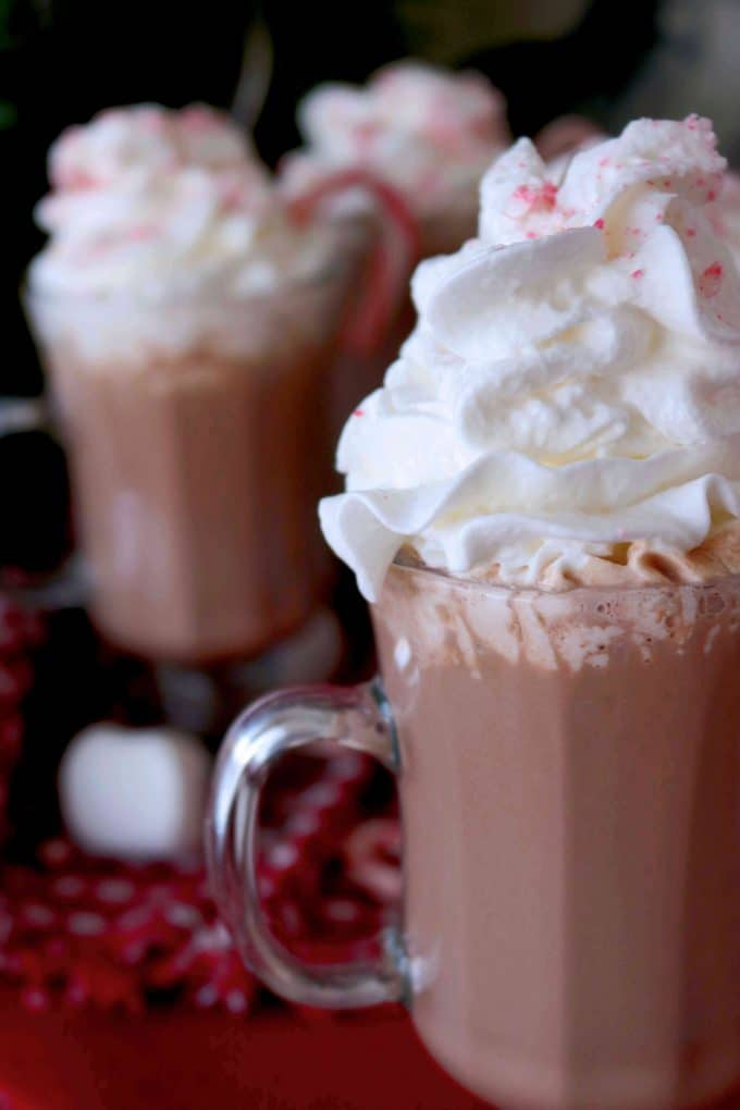 Alcoholic Hot Chocolate