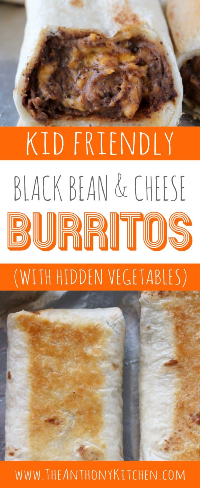 Black bean burrito with hidden vegetables kid friendly recipe kid friendly burrito recipe with black beans cheese and hidden vegetables pooptronica
