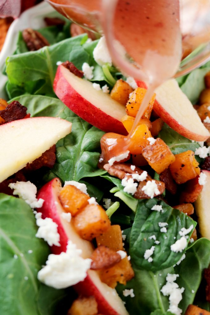 Butternut Squash Salad with Goat Cheese