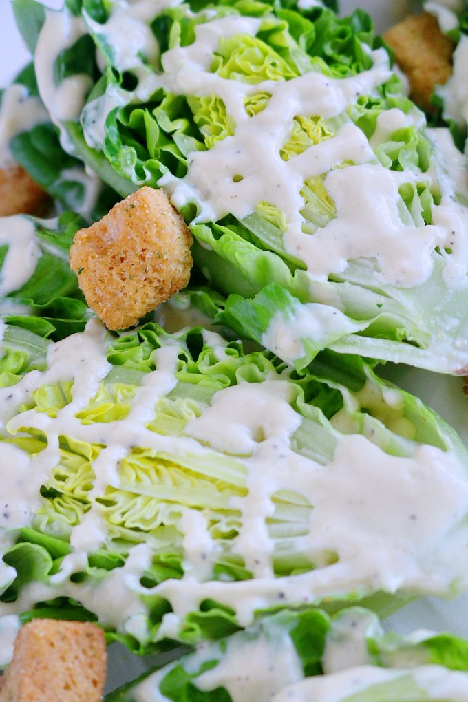 How to make Creamy Caesar Salad Dressing