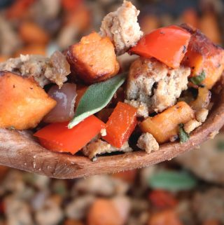 Healthy Sweet Potato Hash with Ground Turkey | Recipe