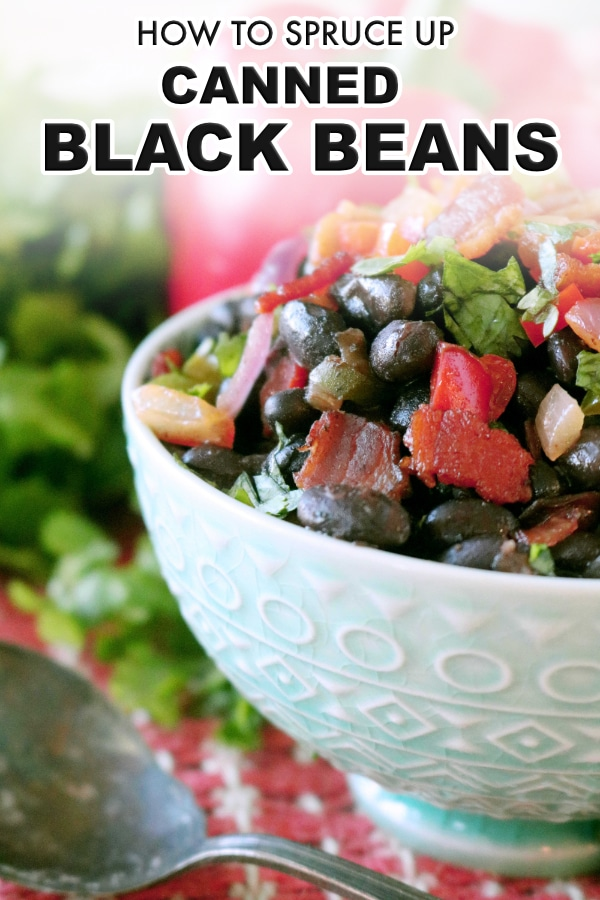 Mexican Black Beans | Canned Black Beans
