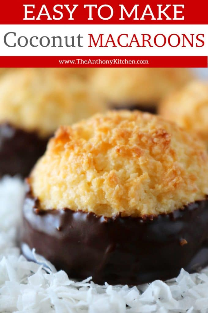 Easy Coconut Macaroons