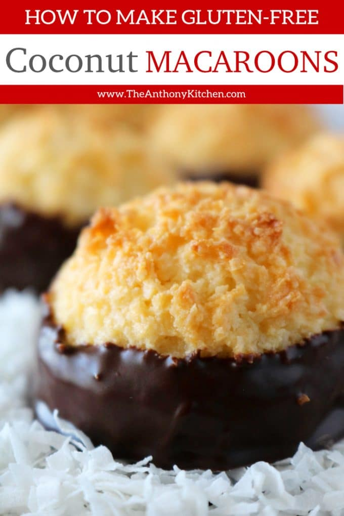Gluten Free Cookie - Easy Coconut Macaroons