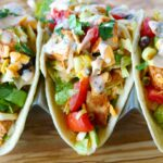 Southwest Chopped Chicken Salad Taco