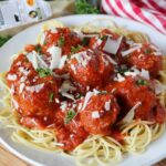 Homemade Spaghetti and Meatballs