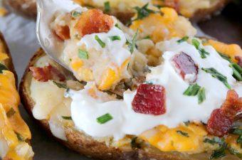 Twice-Baked Potatoes Recipe
