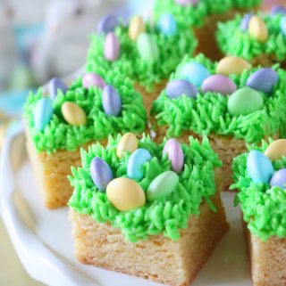 Egg Hunt Blondies | Easter Dessert Recipe