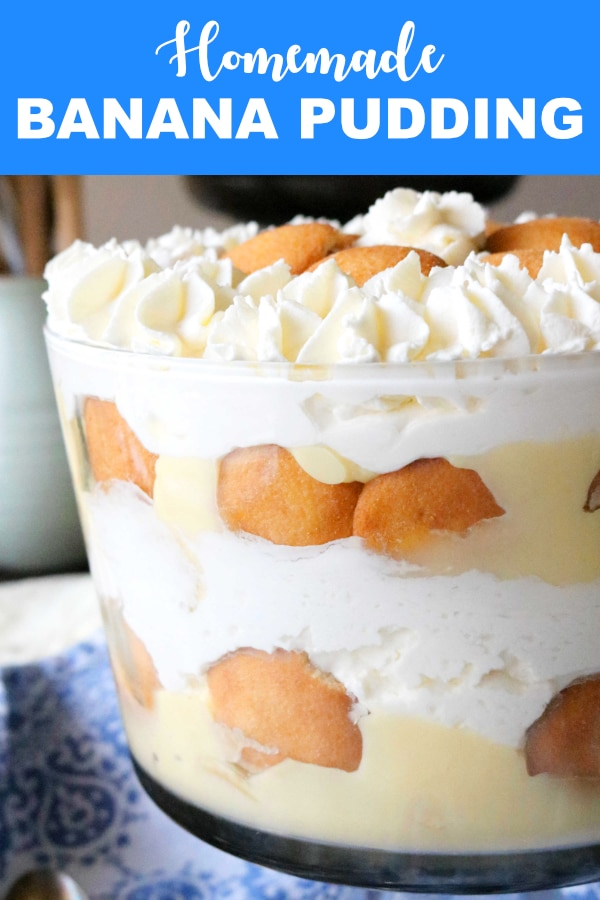 Banana Pudding Trifle | Layered Banana Pudding