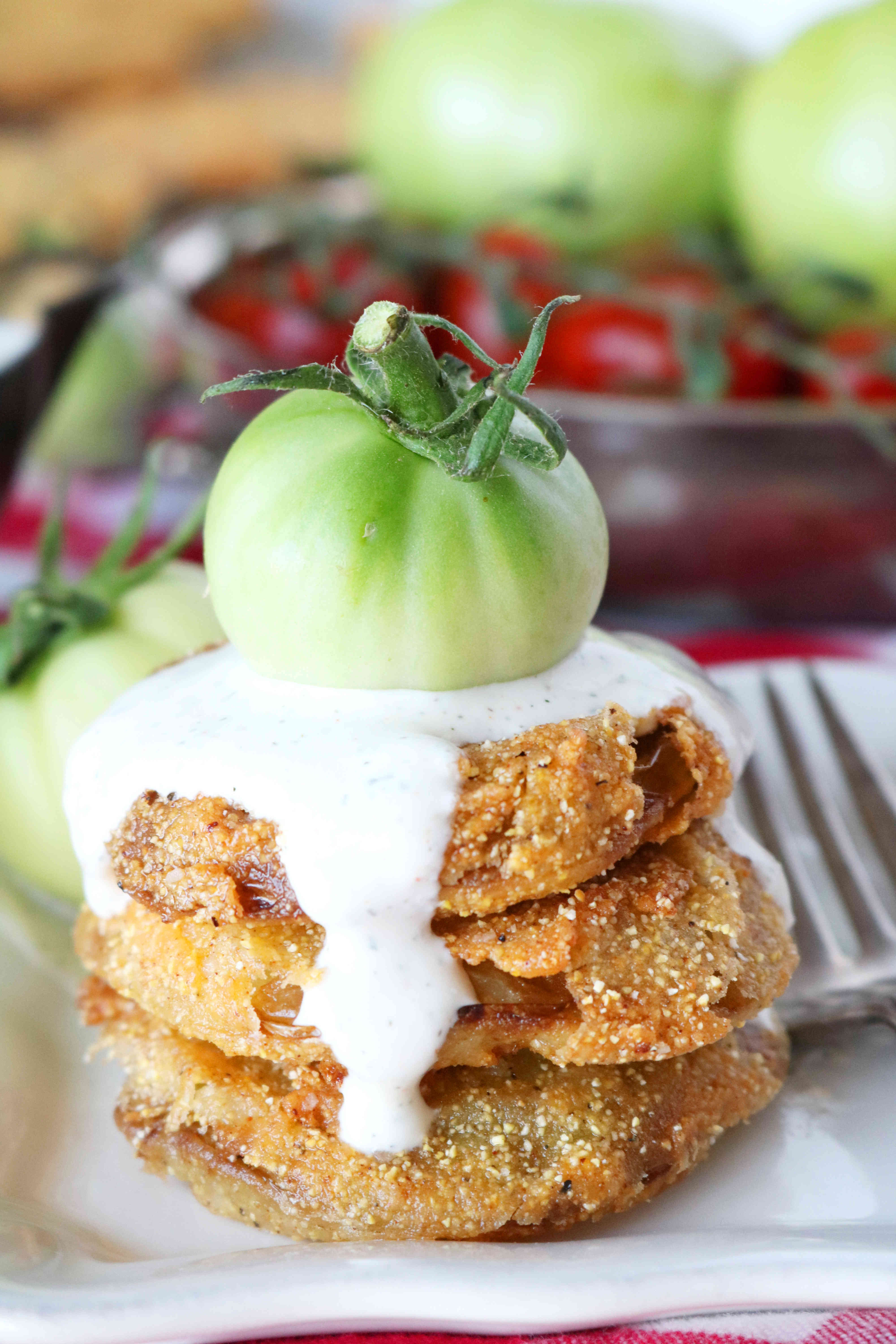 Get Green Fryer Tomato Gif All Recipes Food
