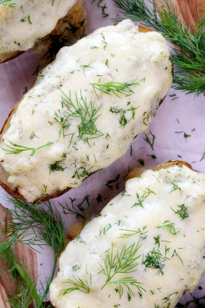 Make Ahead Twice Baked Potatoes