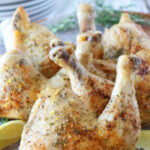 Baked Chicken Leg Quarters Recipe