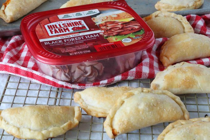 lunchbox empanadas with ham and cheese