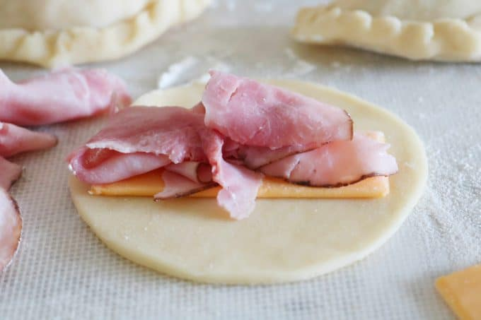 Ham and Cheese Empanadas