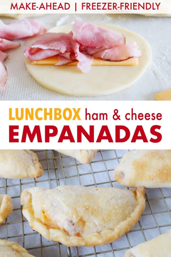 Lunchbox Ham and Cheese Empanada Recipe
