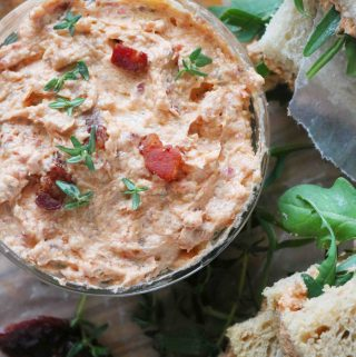 Sun-Dried Tomato Spread with Bacon