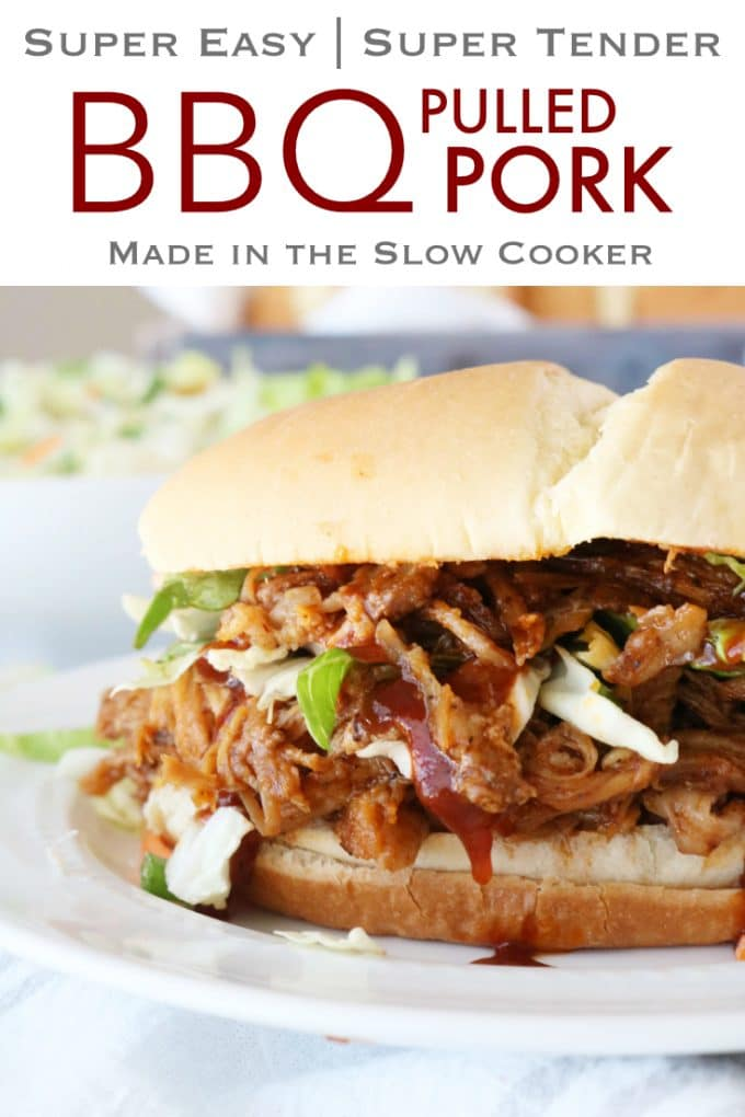 BBQ Pulled Pork in the Slow Cooker