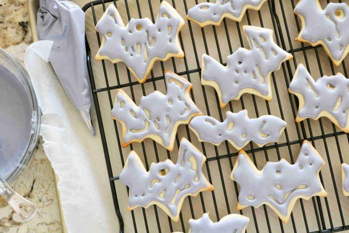 Halloween Sugar Cookies with Royal Icing