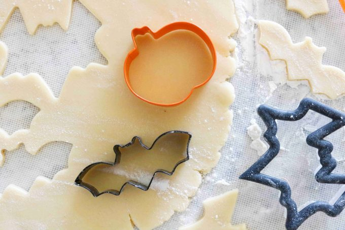 Homemade Halloween Sugar Cookies Cookie Cutters