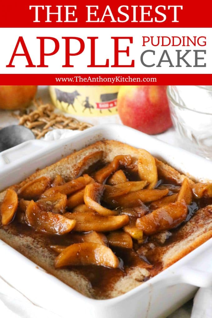 The Best Apple Pudding Cake