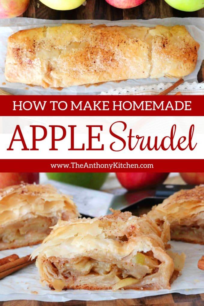 Easy Homemade Apple Strudel