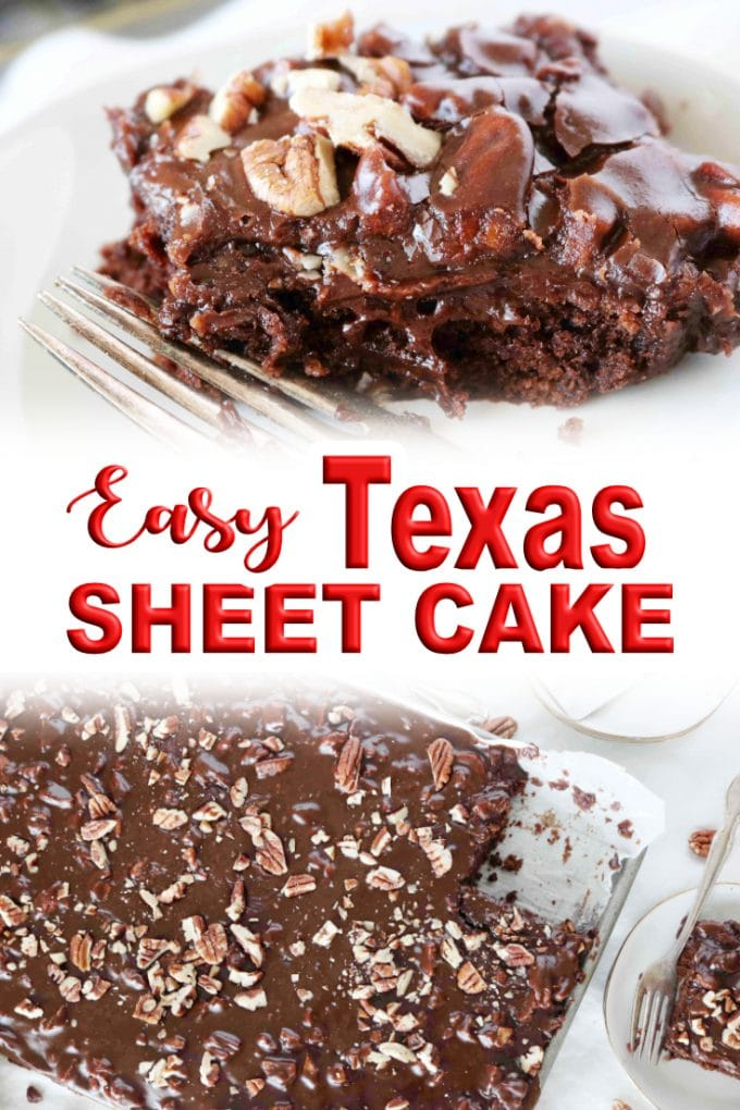 Easy Texas Sheet Cake with Coffee and Buttermilk