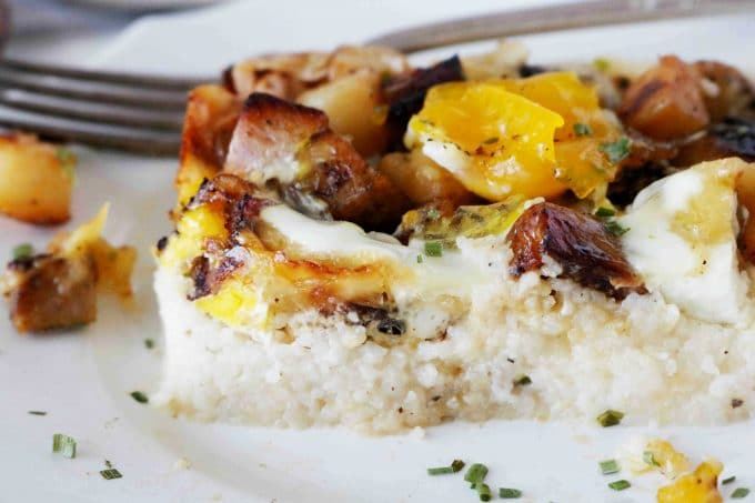 Cheese Grits Breakfast Casserole