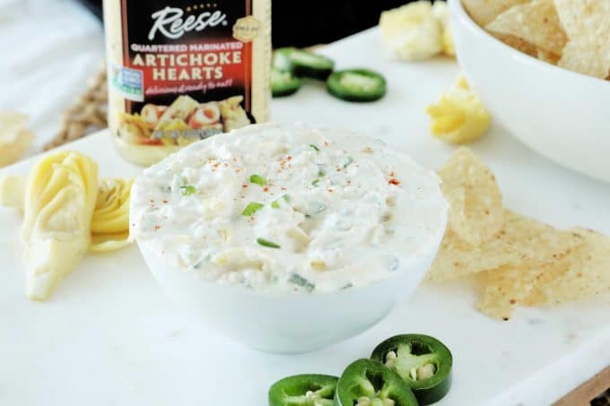Artichoke and Jalapeno Dip