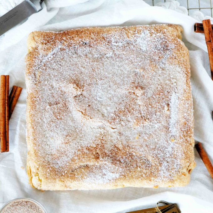Best Snickerdoodle Bars
