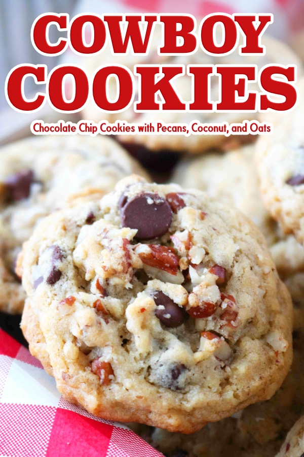 Texas Cowboy Cookie Recipe