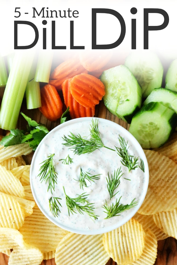 Quick and Easy Dill Dip Recipe
