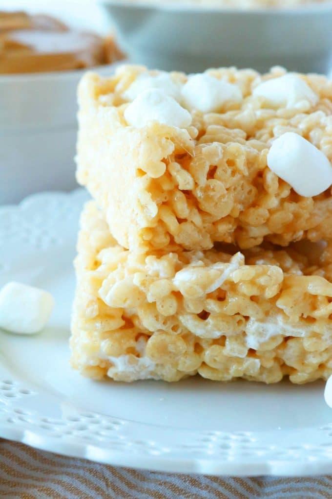 Peanut Butter Rice Krispie
