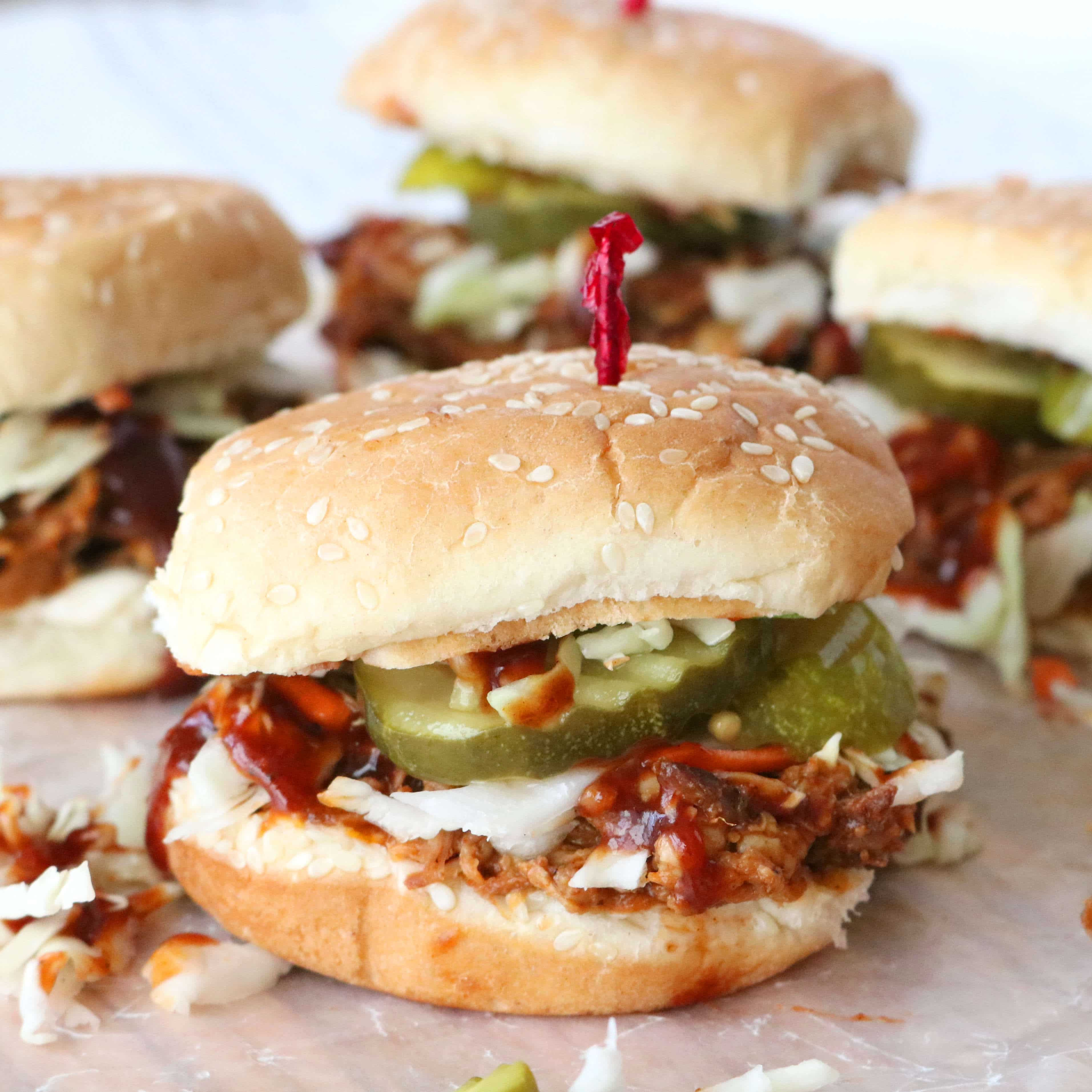 Pulled Pork Sliders Recipe Slow Cooker Recipe The Anthony Kitchen