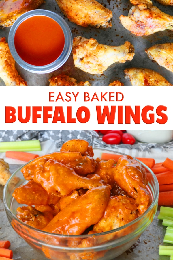 Easy Baked Buffalo Wings
