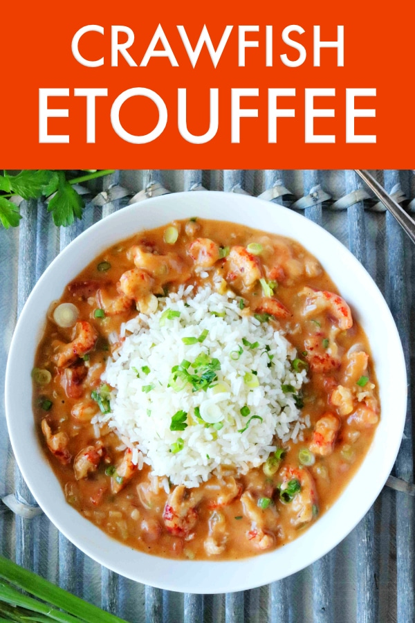 Easy New Orleans Crawfish Etouffee