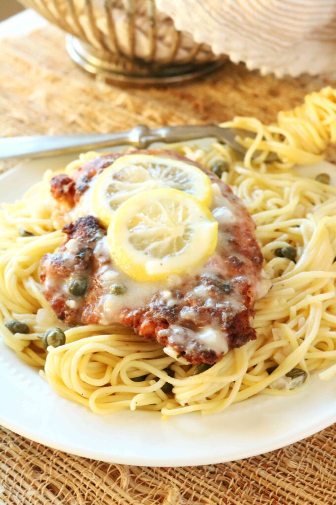 Chicken Scallopini with Piccata Sauce