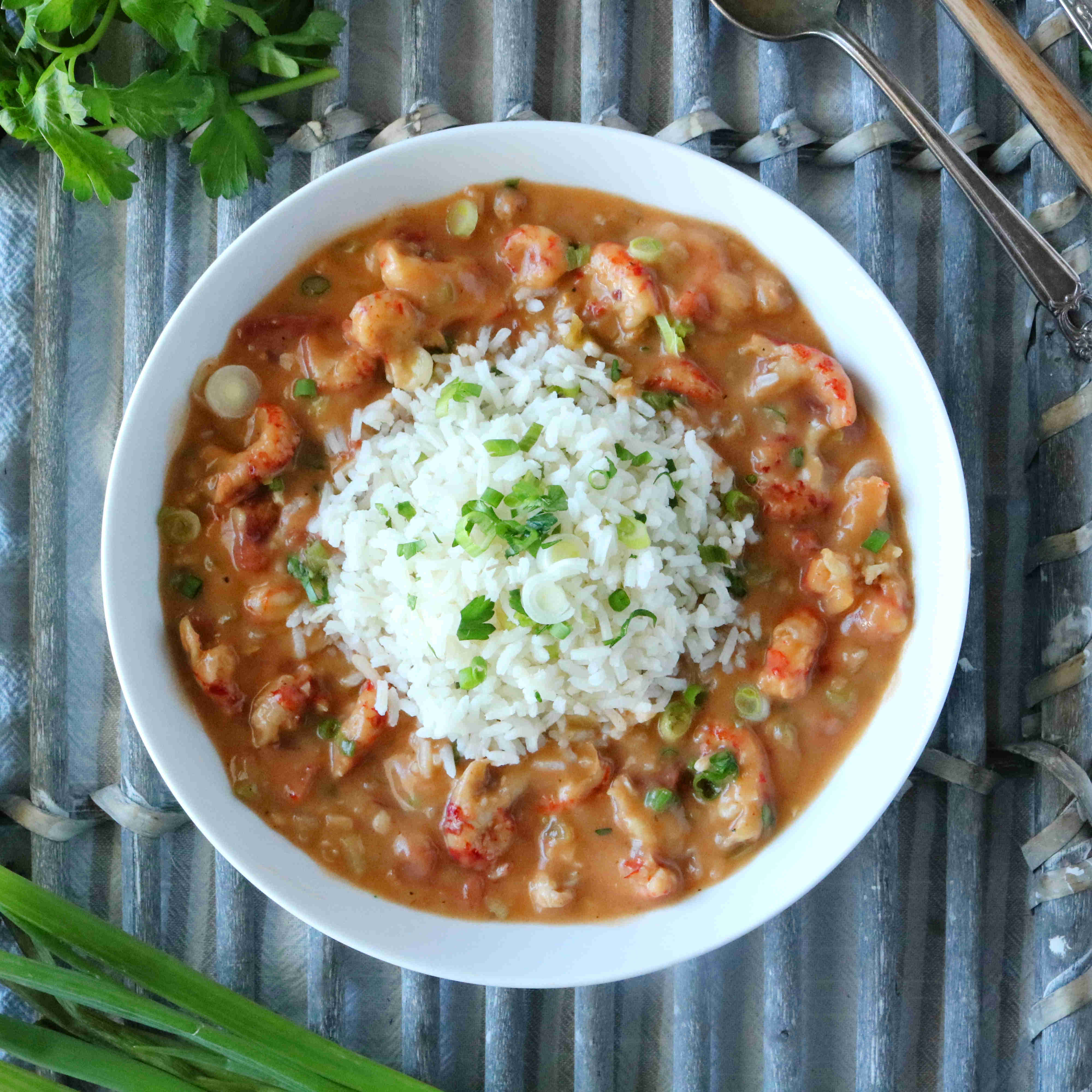 Crawfish Etouffee Classic New Orleans Recipe The Anthony Kitchen