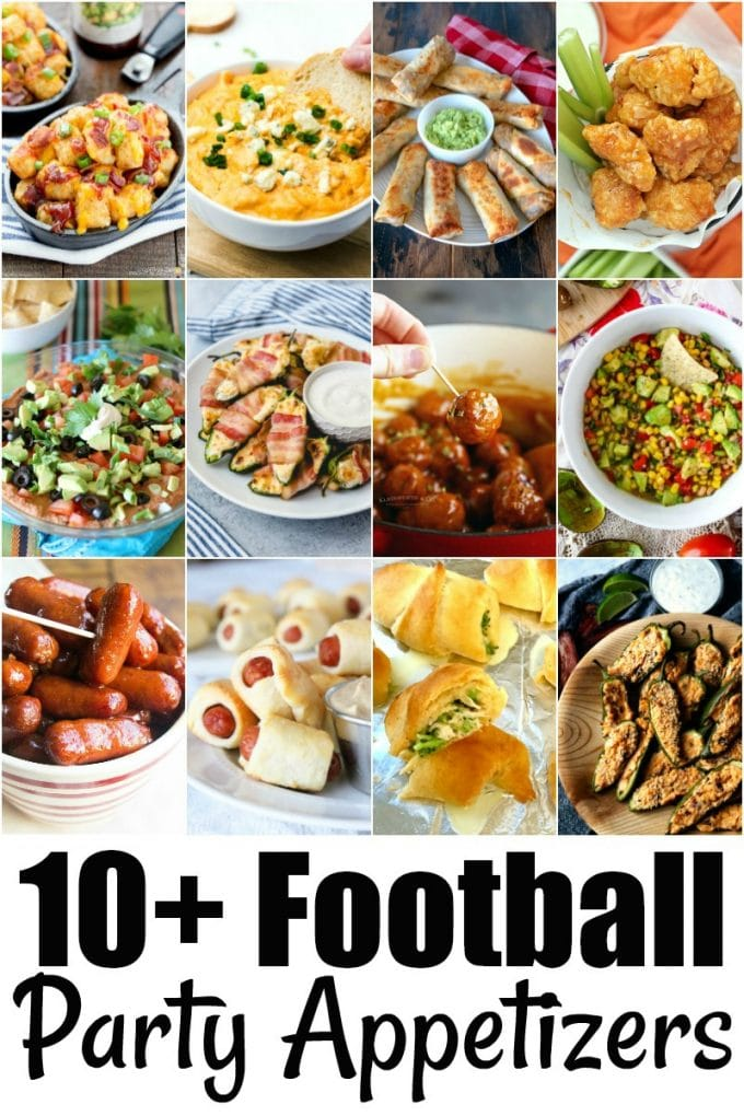 Game Day Recipes for Super Bowl Party