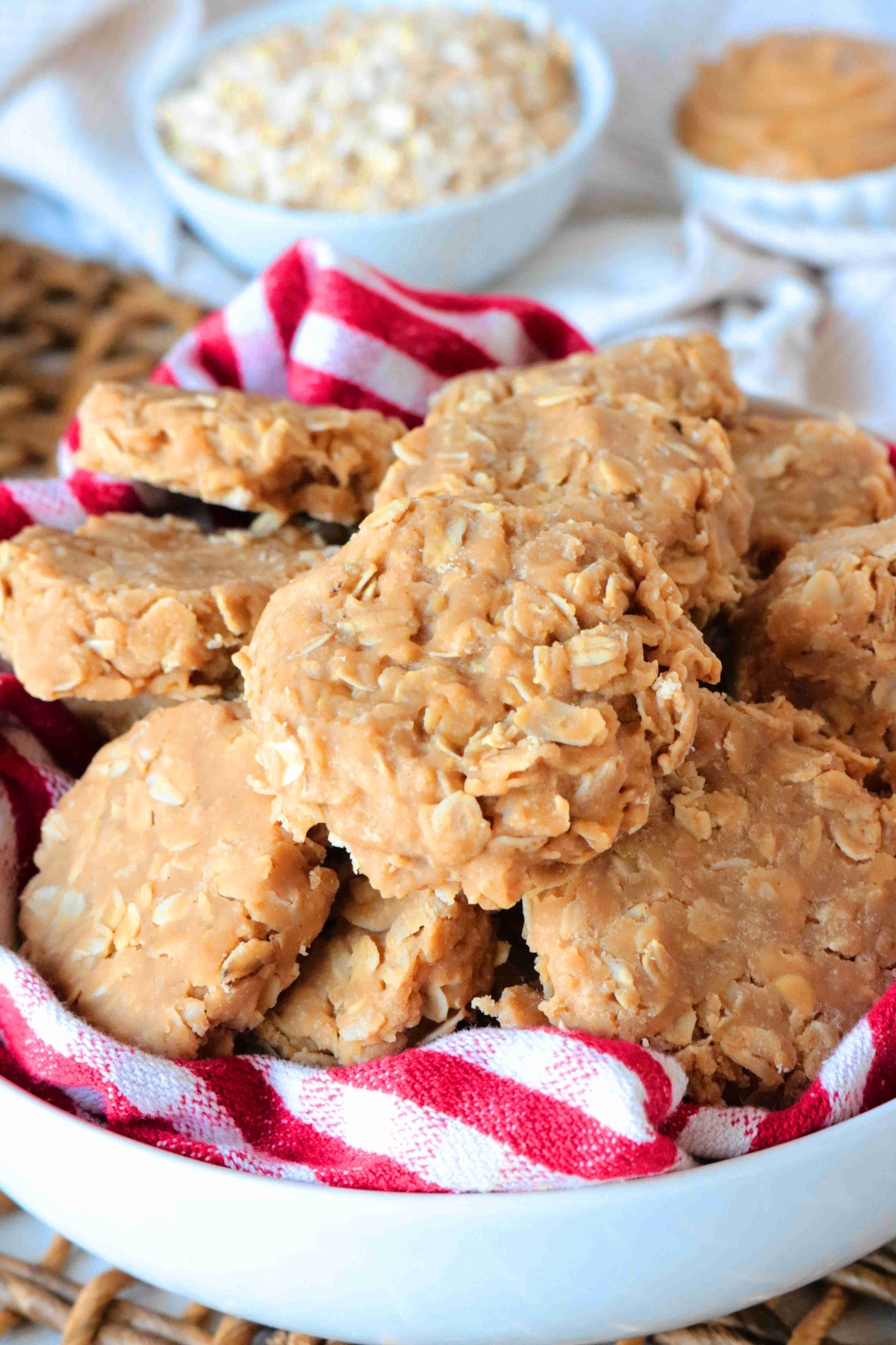 Peanut Butter No Bake Cookies The Anthony Kitchen