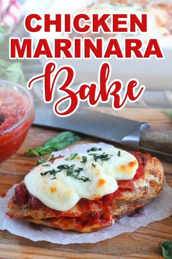 Chicken Marinara Bake