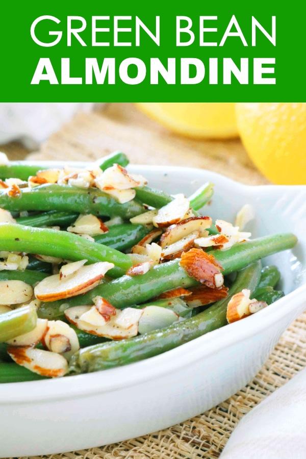 Green Bean Almondine | Green Bean Amandine