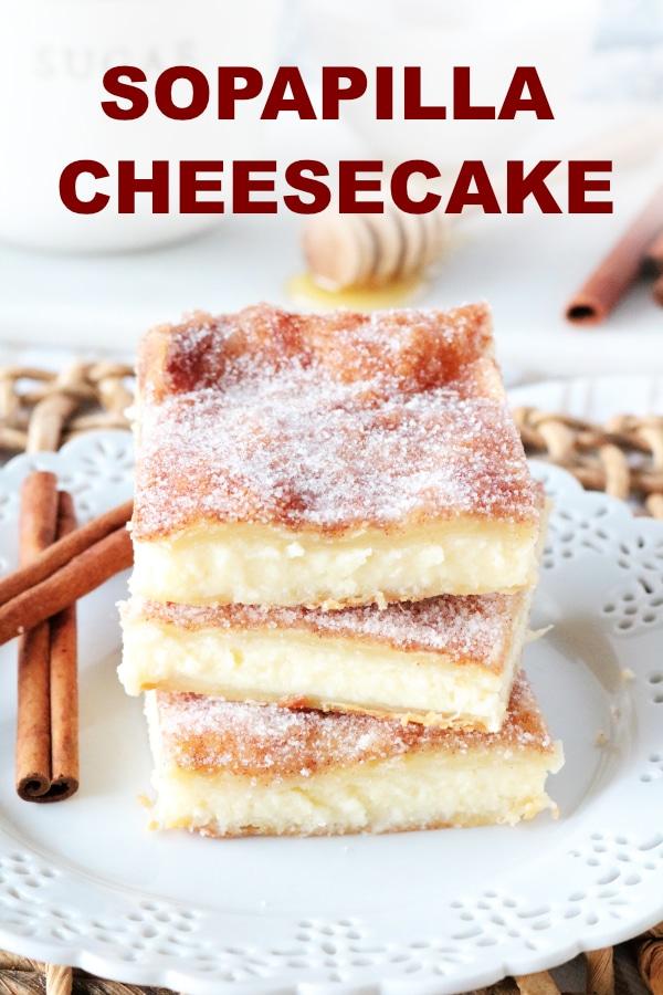 Sopapilla Cheesecake   Sopapilla Cheesecake Bars