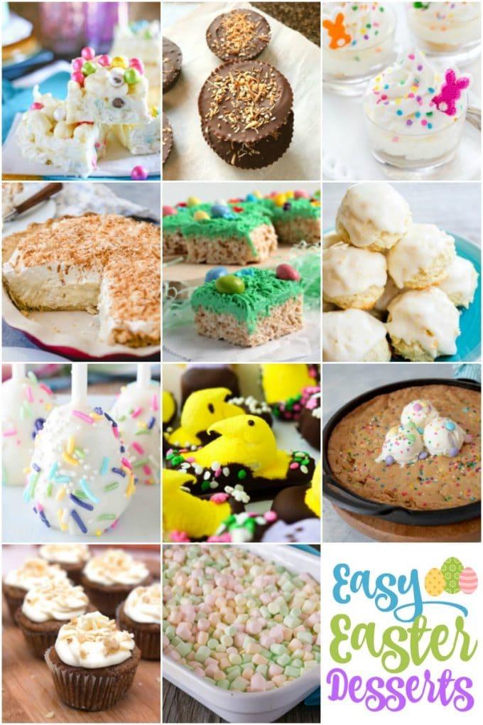 Easter Dessert Recipes